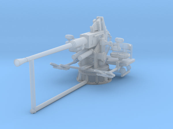1/72 USN Single 40mm Bofors 3d printed