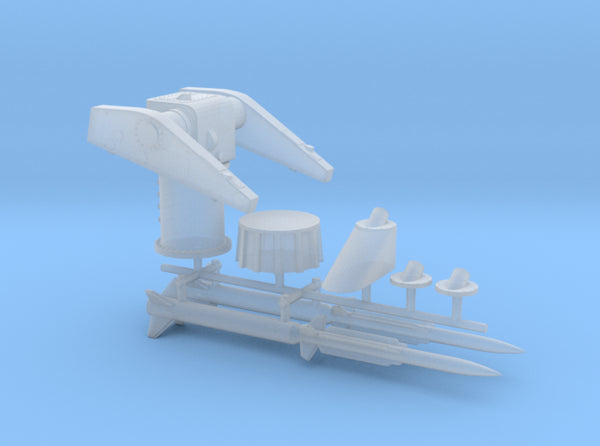 1/200 MK10 Terrier Missile Launcher KIT 3d printed