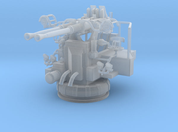 1/72 USN 40mm Bofors Twin Mount 3d printed