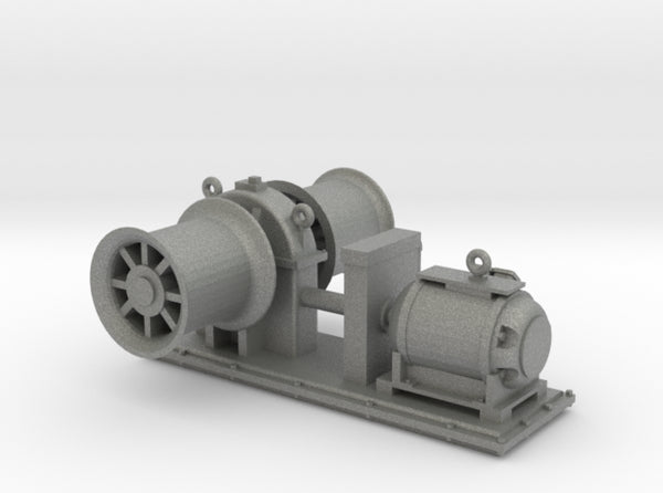 1/30 USS Bow Winch 3d printed