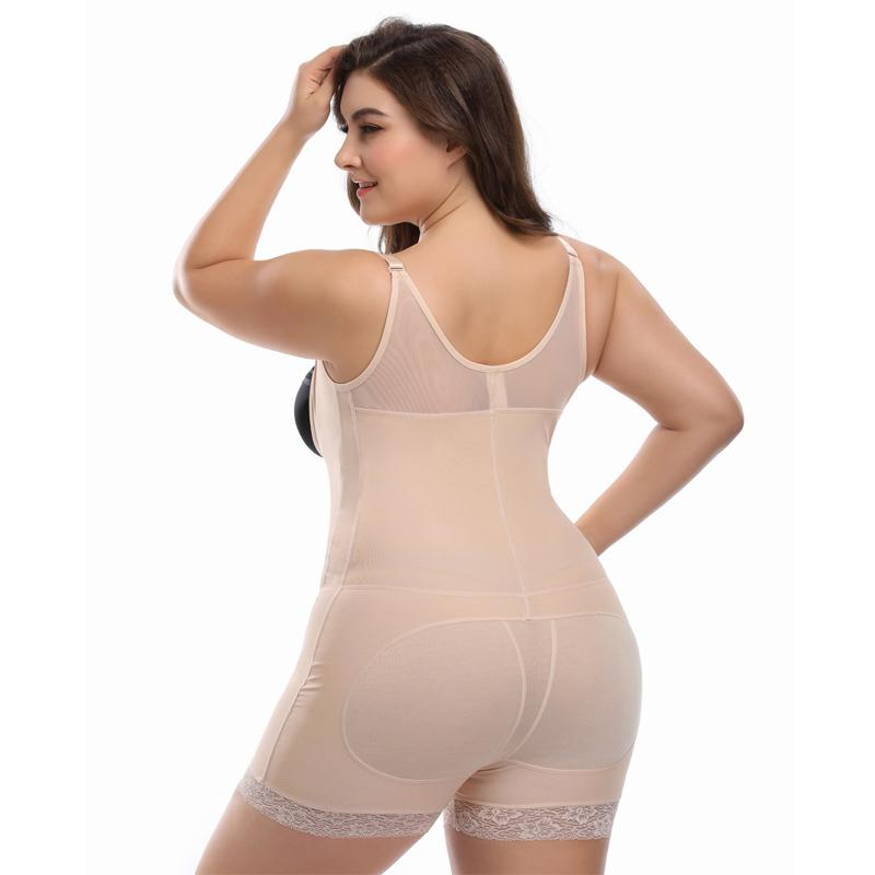 473f9b83d6b ... Plus Size Slimming Underwear Shapewear Bodysuit Women Corset Shaper  Modeling Strap Body Shaper Slim Waist Women ...