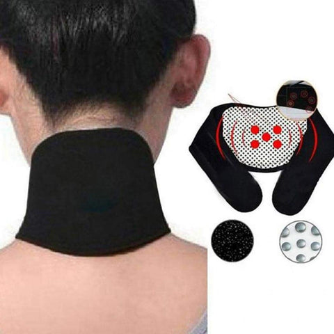 Eadear Self-Heating Neckband, Cervical Vertebra Protection, Warmth, Magnet Therapy