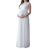 Pregnant Long Dress Women Casual Long Sleeve.