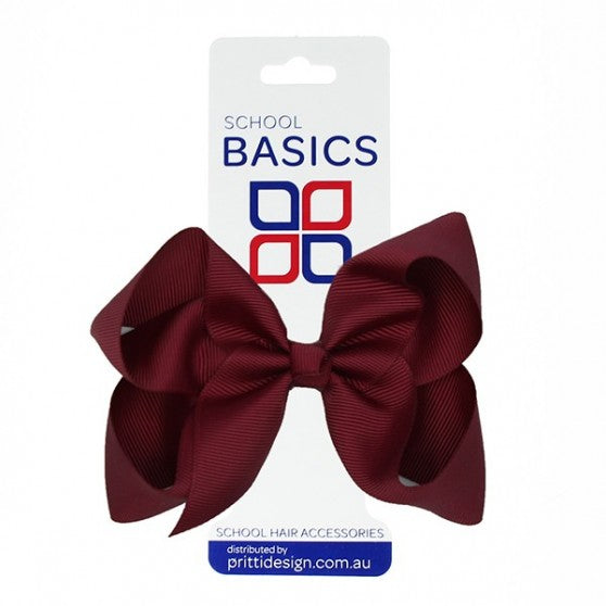 Shilo Grosgrain Bow on elastic - LARGE