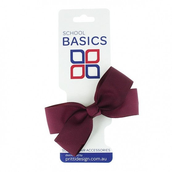 Jani Grosgrain Bow on clip - SMALL