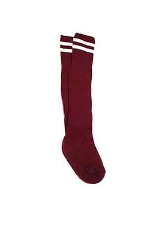 PSSA Football Socks Maroon (Only used by PSSA sport teams)