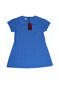 Girls Summer Check Dress