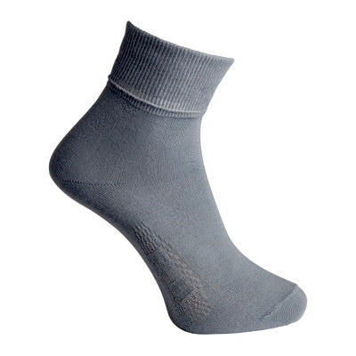 Boys Grey School Socks (2 Pack)