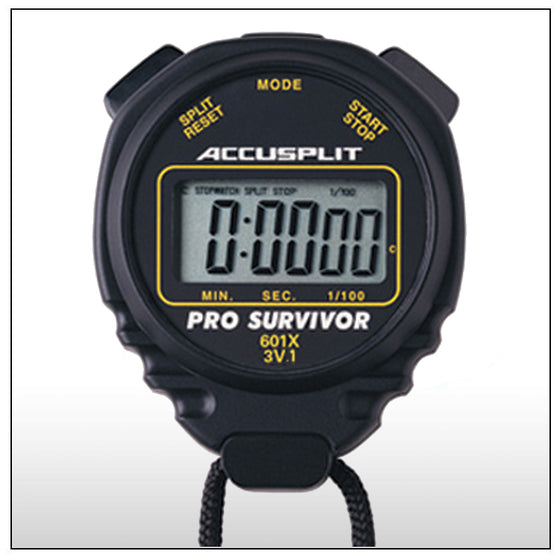 Accupslit Stopwatch Pro Survivor