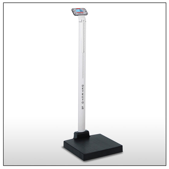 apex Digital Scales with Mechanical Height Rod