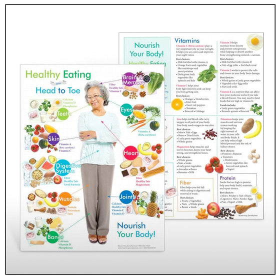 Older Adult Healthy Eating from Head to Toe