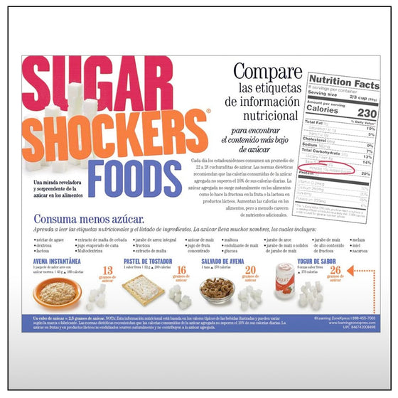 Sugar Shocker Food Handouts Spanish