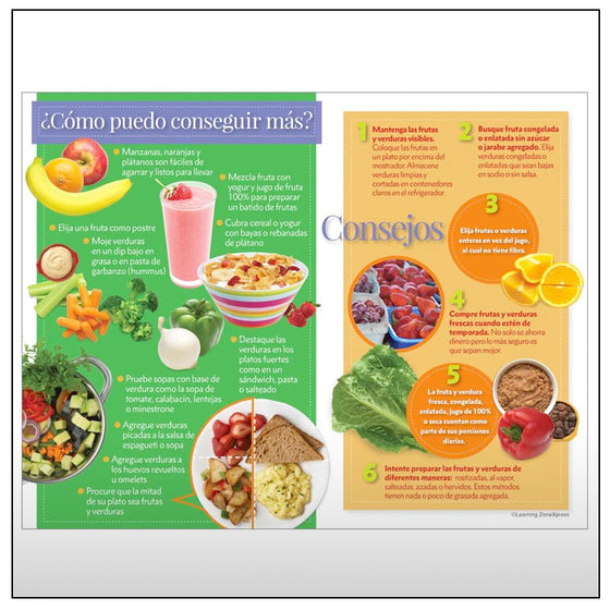 Why Eat Fruits and Veggies Handouts - Spanish Version