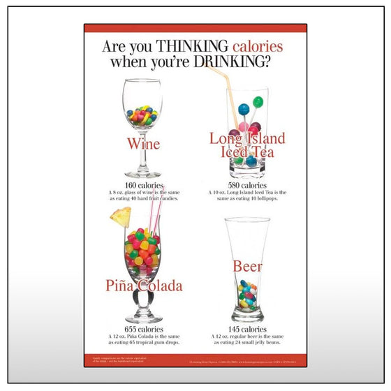 Thinking When You Are Drinking Poster Set