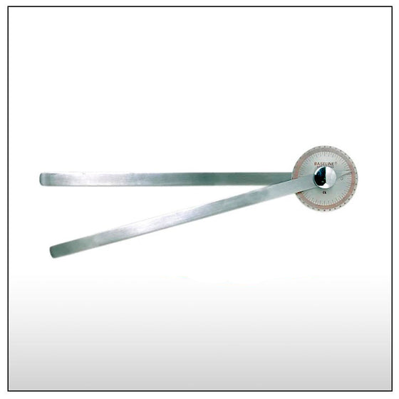 360 Degree Steel Goniometer - 14 inch legs