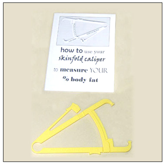 Yellow Budget Caliper with Instruction Booklet