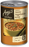Amy's Kitchen Lentil Vegetable Soup 411gm - Natural Organic Store