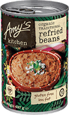 Amy's Kitchen Traditional Refried Beans 437gm - Natural Organic Store