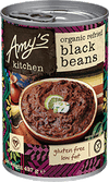 Amy's Kitchen Refried Black Beans 437gm
