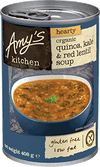 Amys Kitchen Quinoa Kale & Red Lentil Soup 408g - Natural Organic Store