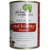 Global Organics Red Kidney Beans 400gm - Natural Organic Store