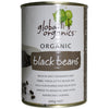 Global Organics Black Beans 400gm - Natural Organic Store