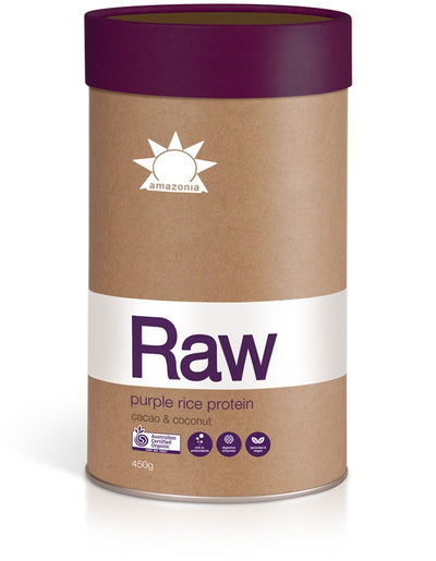 Amazonia Raw Purple Rice Protein Cacao & Coconut 450g