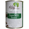 Global Organics Borlotti Beans 400gm - Natural Organic Store