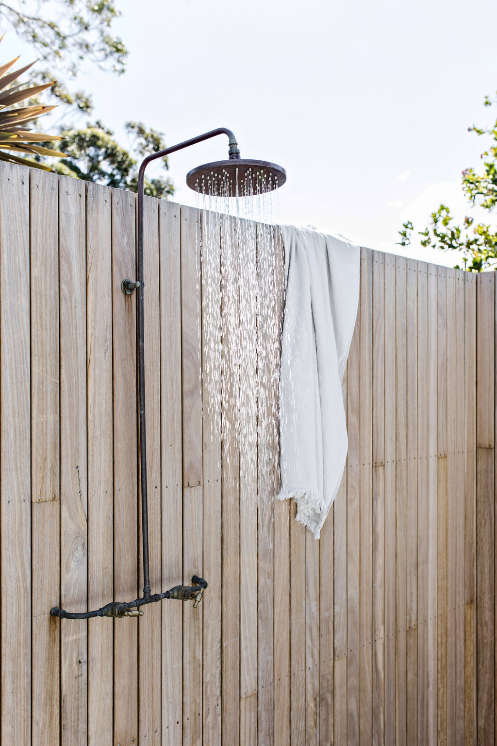 Copper SGO Outdoor Shower