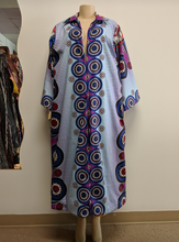 Load image into Gallery viewer, African print long coat