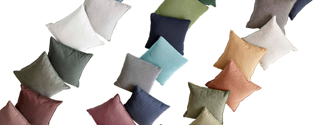 Outdoor scatter cushions & plaids