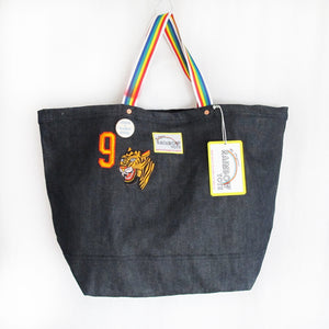 """We Can"" Indigo Tote"