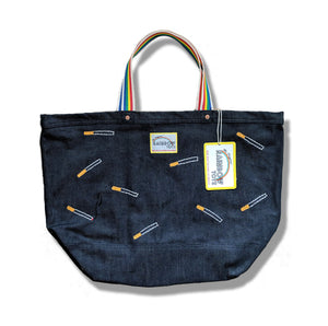 "The ""Light It Up"" Embroidered Tote"