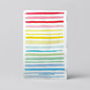 Rainbow Notebook - (2) 32-page Books!