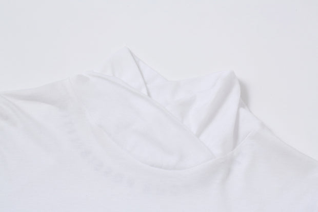 TWIST NECK LS/TEE
