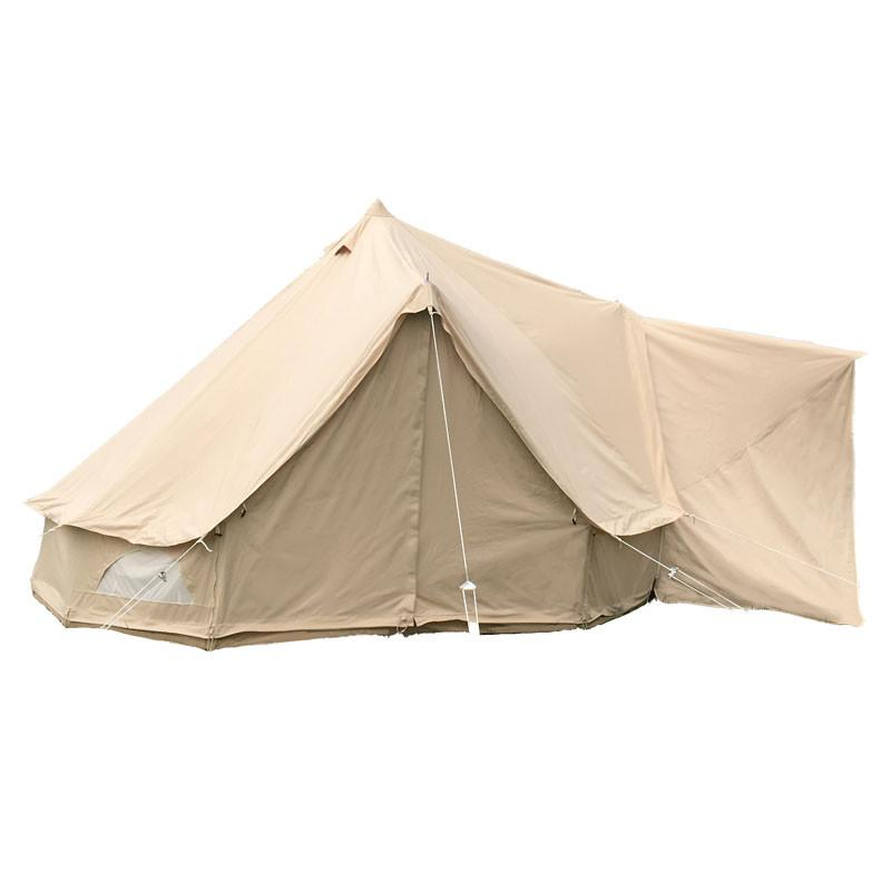 Glawning luxury driveaway canvas bell tent awning