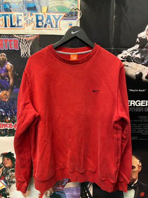 Red Nike Crewneck Large - Decades of dope