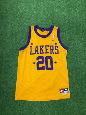 Nike Gary Payton Laker Jersey Medium - Decades of dope