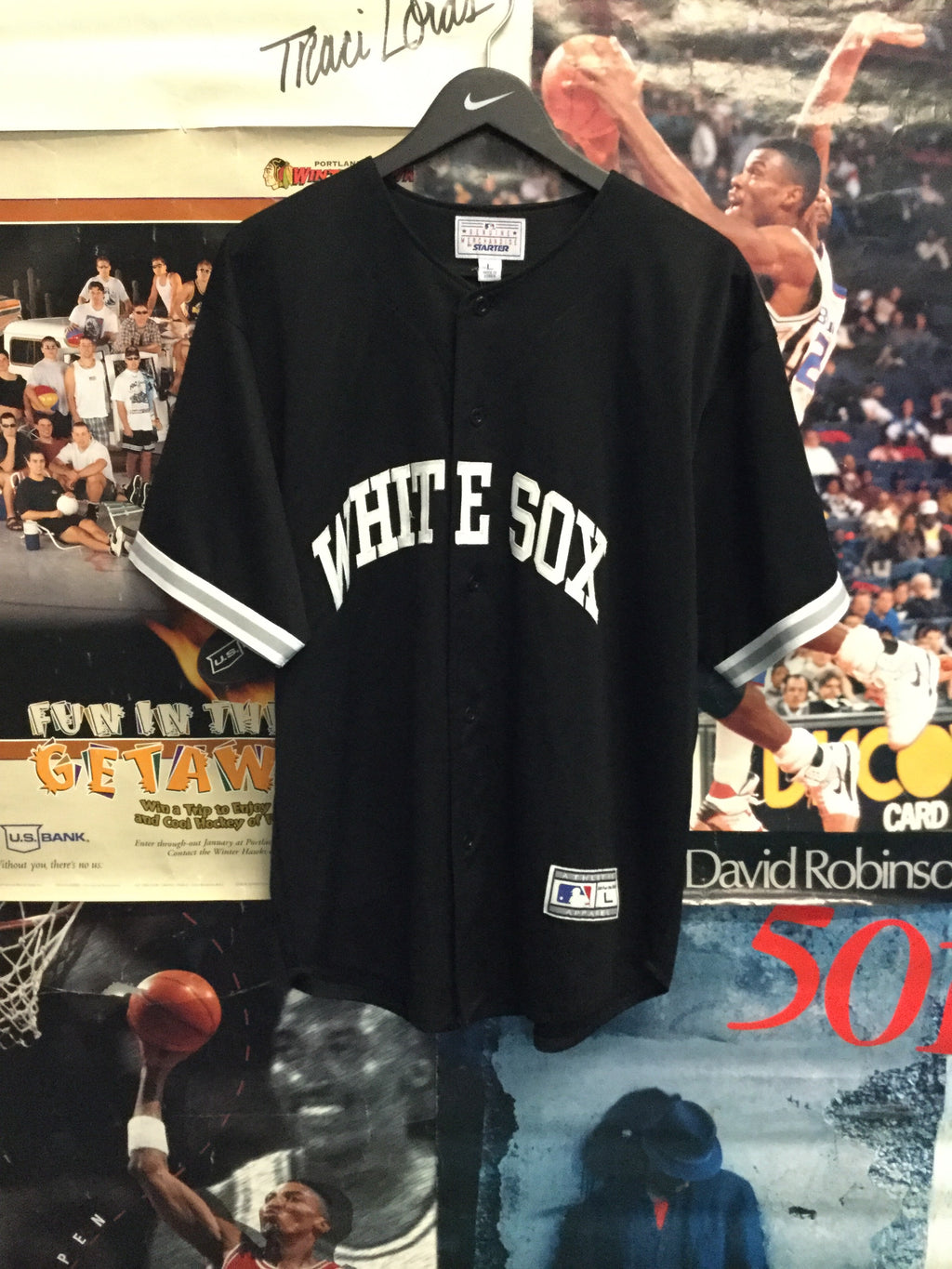 Starter Chicago White Sox Jersey Large - Decades of dope