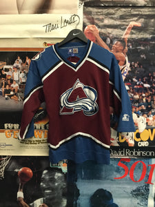 Starter Colorado Avalanche Jersey L / XL - Decades of dope