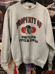 Portland Winter Hawks Crewneck XLarge - Decades of dope