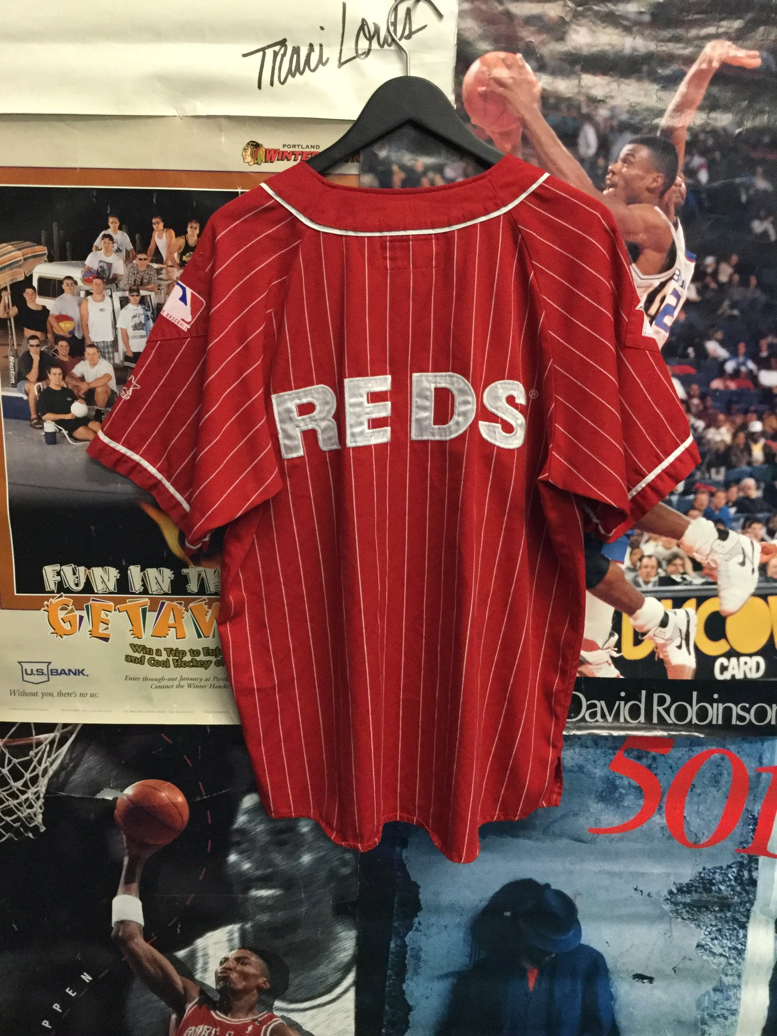 Starter Cincinnati Reds Jersey Large - Decades of dope