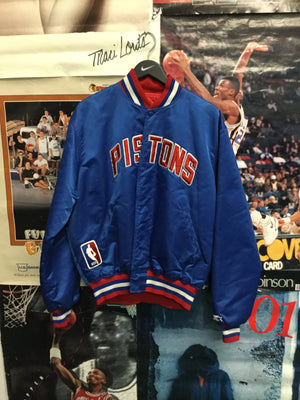Starter Detroit Pistons Satin Jacket XL - Decades of dope