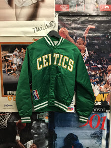 Starter Boston Celtics Satin Jacket Medium - Decades of dope
