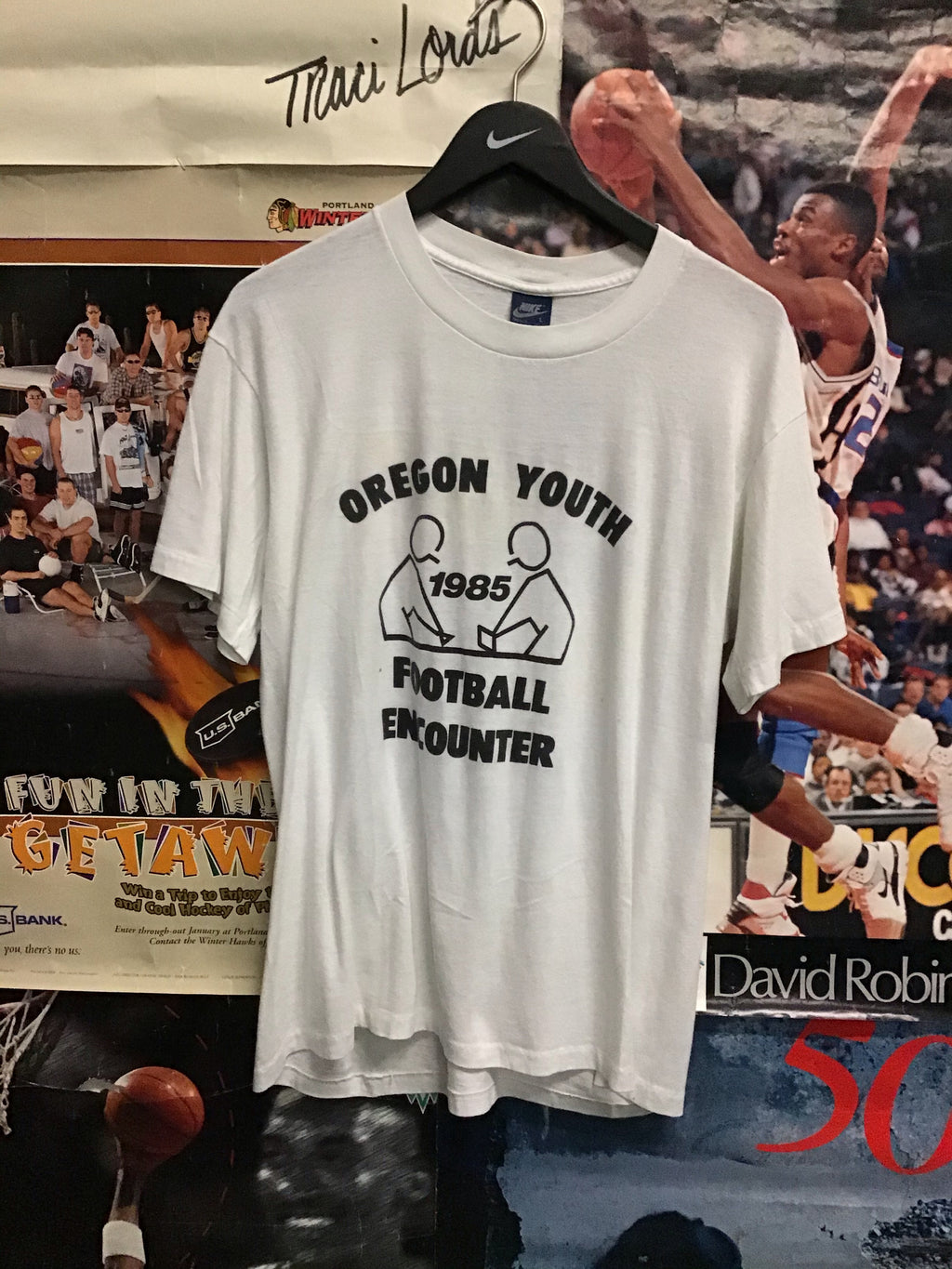 Nike Football Encounter Tee Large - Decades of dope