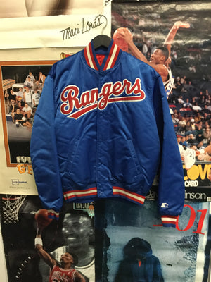 Starter Texas Rangers Satin Jacket Large - Decades of dope