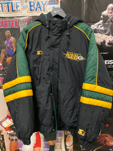 Starter Green Bay Packers Puffy Jacket XL - Decades of dope