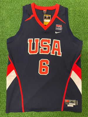Nike Lebron USA Jersey XL - Decades of dope