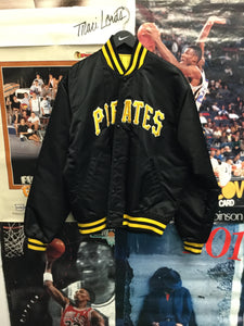 Starter Pittsburgh Pirates Satin Jacket Large - Decades of dope