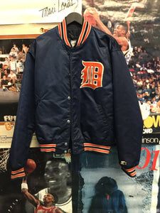 Starter Detroit Tigers Satin Jacket - Decades of dope